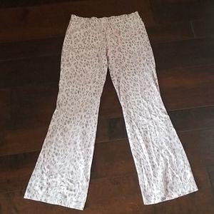 Victoria's secret pink leopard lounge pants
